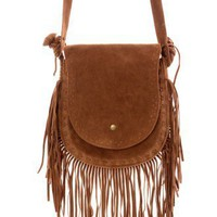 Camel Fringe Shoulder Bag - Goods - Retro, Indie and Unique Fashion
