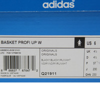 Adidas Women Basket Profi Up (black / runninwhite) Shoes Q21911 | PickYourShoes.com