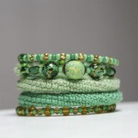 Spring Bracelet / No191 by byMarianneS on Etsy