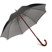 London Undercover Houndstooth-Lined Umbrella | MR PORTER