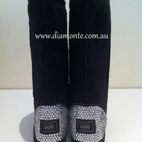 UGG Boots Tall Synthetic Featuring Swarovski Crystals