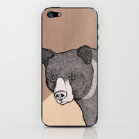 Bear iPhone & iPod Skin by Diana Hope