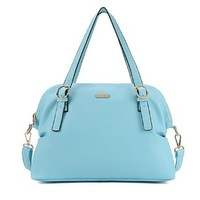 Pure Color Leisure Handbag Shoulder Bag