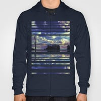 Closed Eye Sheet Music Hoody by Ben Geiger