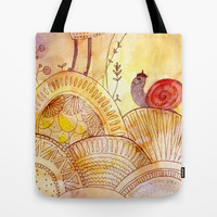 the stroll Tote Bag by Marianna Tankelevich