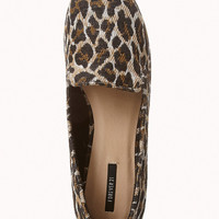 Spot-On Leopard Loafers