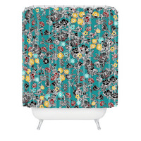 DENY Designs Home Accessories | Sharon Turner Cloisonne Flowers Shower Curtain