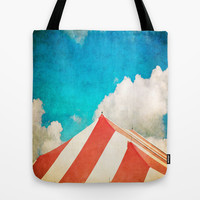Under the Big Top Tote Bag by Ann B.