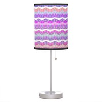Mix #504 - Pink Table Lamp