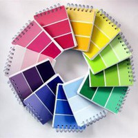 20 Paint Sample Notebooks // Wholesale Pricing by crabappledesign