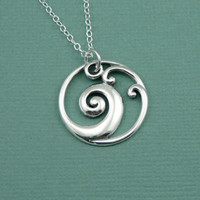 Zen Wave Necklace