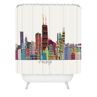 DENY Designs Home Accessories | Brian Buckley Chicago City Shower Curtain