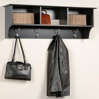 Hanging Cubbie Shelf - Black
