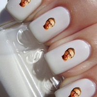Ryan Gosling Nail Decals ( 1 sheet of 12 decals)