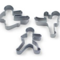 Amazon.com: Fred & Friends Ninjabread Men Cookie Cutters: Kitchen & Dining