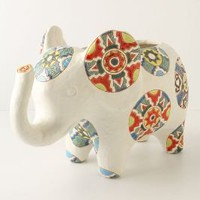 Elephant Medallion Pot?-?Anthropologie.com