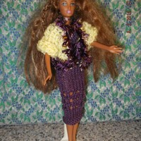 Handmade Outfit for Barbie Doll    SEE SPECIAL OFFER  (nannycheryl original)1017