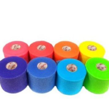 Mueller Rainbow Pack of Sports Pre-Wrap (8 colors!)
