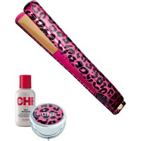 Limited Edition Pink Leopard 1 Inch Flat Iron