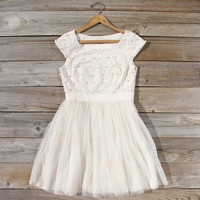 Winter Dew Beaded Party Dress