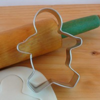 Gingerbread Boy 3.75 inch Metal Cookie Cutter