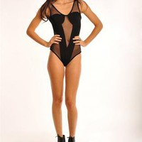 Black Swimsuit - DU Rihanna Bodysuit | UsTrendy