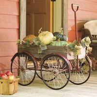 Decorative Vintage Wagon - Plow & Hearth