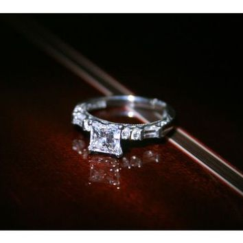 Have You Seen the Ring?: Tacori 1.25 TCW Diamond Platinum Engagement Ring