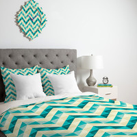 DENY Designs Home Accessories | Jacqueline Maldonado Chevron Facet 4 Duvet Cover