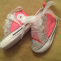 Bling Baby Converse by RadianceDesigns on Etsy