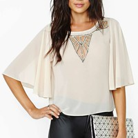 Modern Love Beaded Top