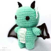 reserved green dragon by adorablykawaii on Etsy