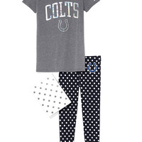 Indianapolis Colts Boyfriend Tee & Legging Gift Set - PINK - Victoria's Secret