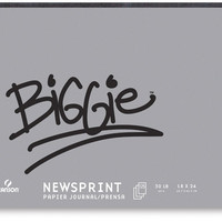 Canson Biggie Recycled Newsprint - BLICK art materials