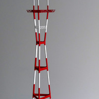 Detailed Sutro Tower model