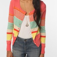 UrbanOutfitters.com &gt; Pins and Needles Candy Stripe Cardigan