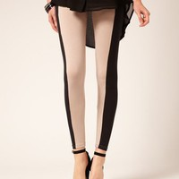 Fashion Leggings, Contrast Panel Leggings, Buy Online