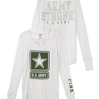 Army Long-sleeve Thermal Tee - PINK - Victoria's Secret