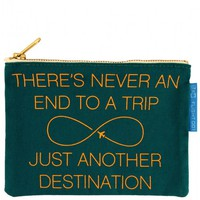 Flight 001 – Where Travel Begins.  F1 Another Destination Pouch - Toiletry Bags - All Products