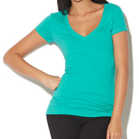 Reese V-Neck | Shop Just Arrived at Wet Seal
