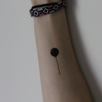 Balloon Temporary Tattoo