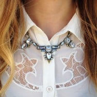 Retro Rhinesto Necklace