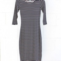 Bodycon Stripe Dress