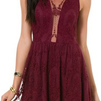 FOR LOVE & LEMONS LULU LACE DRESS | Swell.com
