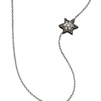 KC Designs Side-set Diamond Star of David Necklace - Max & Chloe
