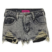 Marissa High Cut Denim Hotpants
