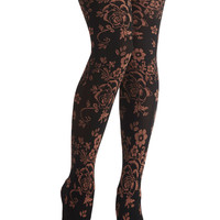 Evening's Aura Tights | Mod Retro Vintage Tights | ModCloth.com