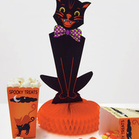 Black Cat Centerpiece