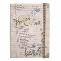Recipe for Love Journal Notebook - Recipe Journals from the gifted penguin UK