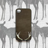 Supermarket: Iphone 4S case, Iphone 4 case, for men, Antlers, Brown from Raceytay